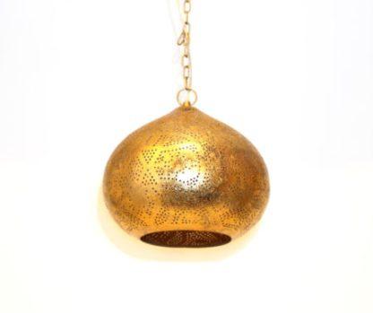 Indiase-hanglamp-filigrain-vintage-goud-pompoen-te-koop-bij-winkel-Indistrieel-in-Middelburg.