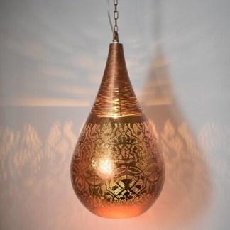 Indiase-small-hanglamp-filigrain-druppel-draad-koper-detail-te-koop-bij-Indistrieel-in-Middelburg