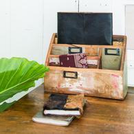 organizer scrapwood postbakje accessoire te koop bij winkel Indistrieel in Middelburg