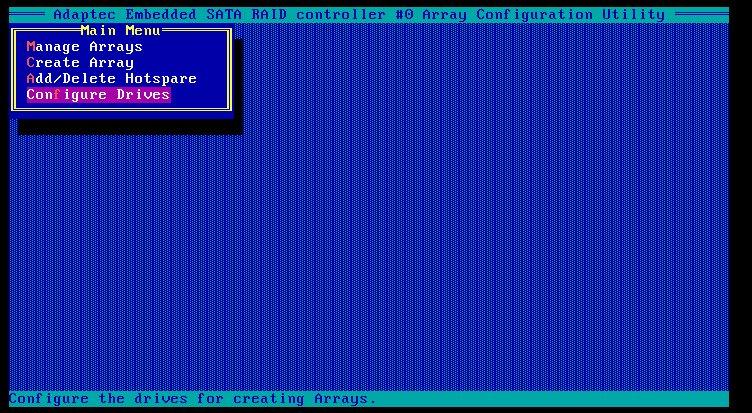 configure driver