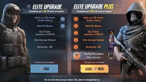 ترقية Royale Pass  لتحرير مهام Elite في ببجي الموسم 7