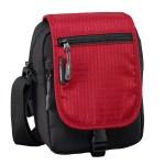 Urban Travel Zipped Caribee Metro Shoulder Bag Red