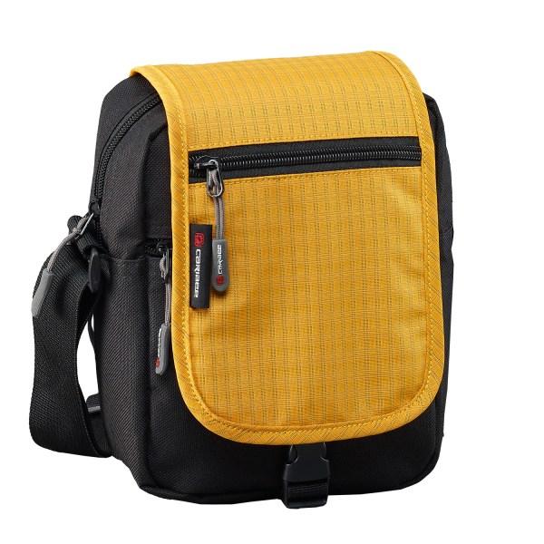 Urban Travel Zipped Caribee Metro Shoulder Bag Yellow