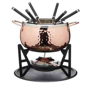 Fondue Set Copper Artesa KitchenCraft