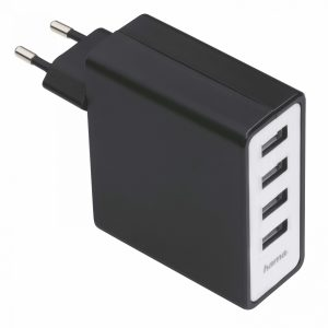 USB Charger Multi Port HAMA 4 Port