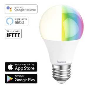 LED Bulb Smart Home WiFi HAMA E27  RGB