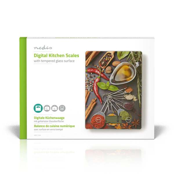 Kitchen Scale Cooking Design Nedis