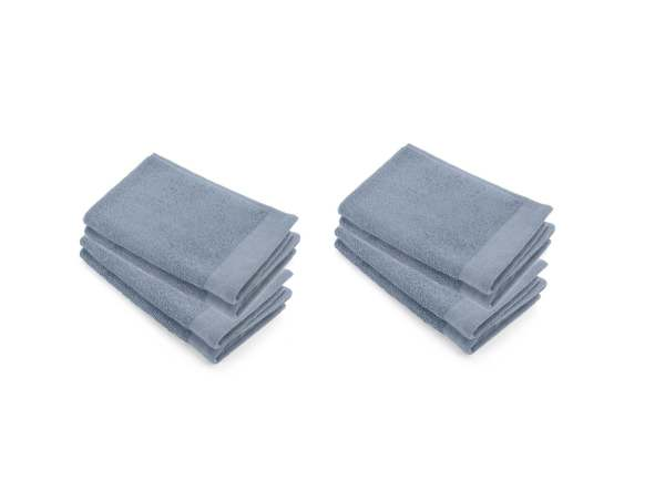 Guest Towel  Soft Cotton Walra Blue