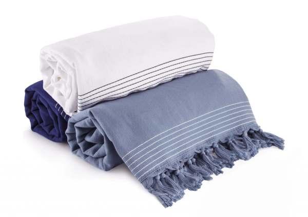Walra Hamam Towel Soft Cotton Anthracite (100x180cm) - 2pcs.