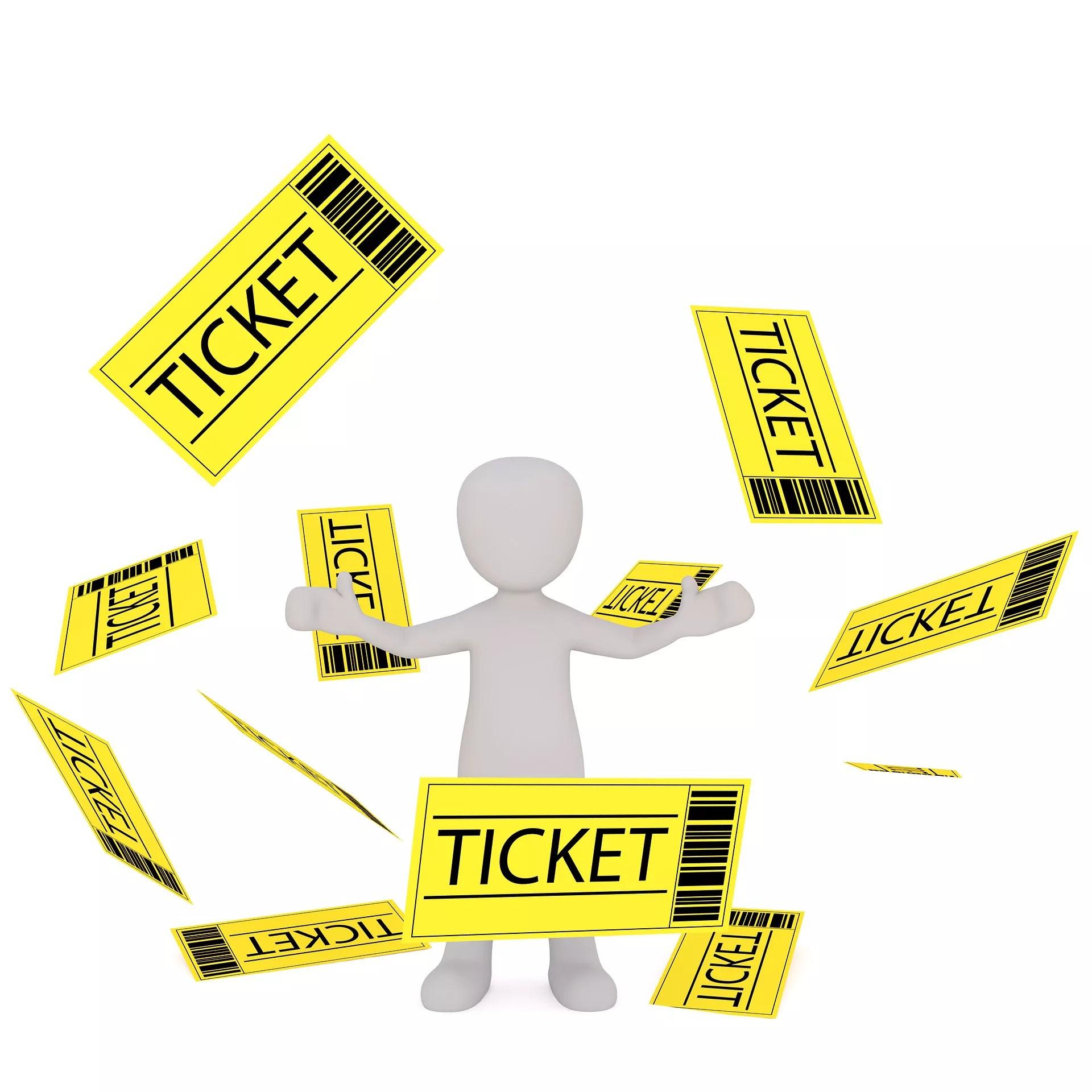 購入チケット