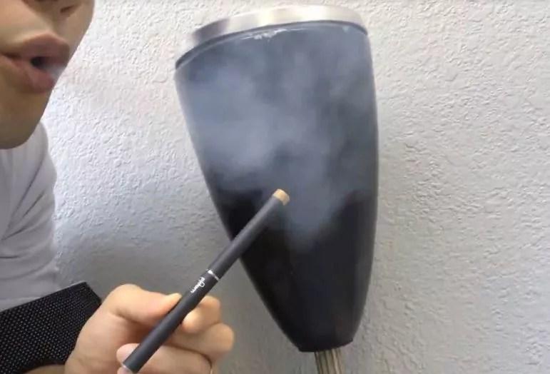 プルームテックの煙の量