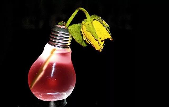 プルームテックの水没で赤ランプ