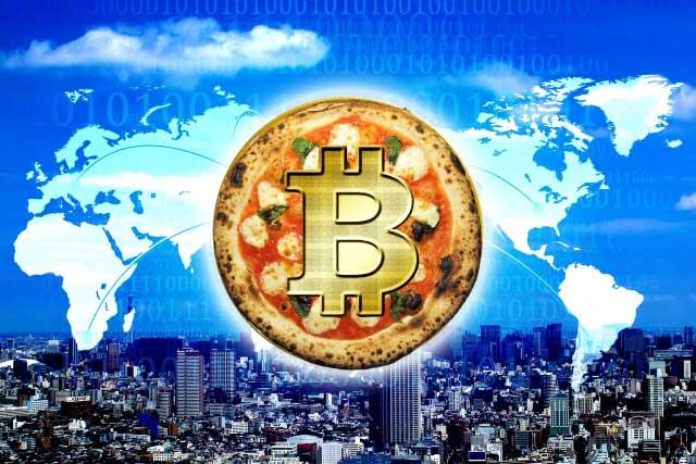 5月22日は『ビットコイン・ピザ・デー』、、、2021年現在、当時のピザは510億円。