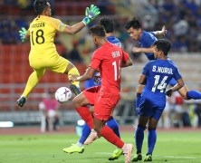 Video: Thái Lan vs Singapore