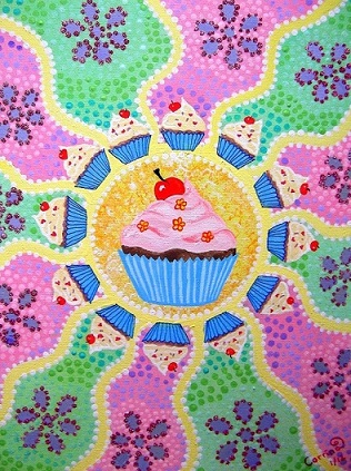 Cup Cake Free Cakes Amp Balloons ECards Greeting Cards 123 Greetings
