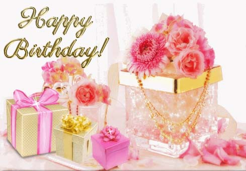 Beautiful Pink Birthday Wishes Free Birthday For Her ECards 123 Greetings