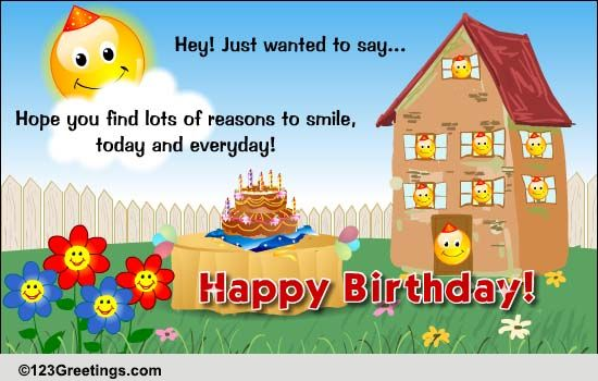Find Birthday Surprises Free Funny Birthday Wishes ECards 123 Greetings