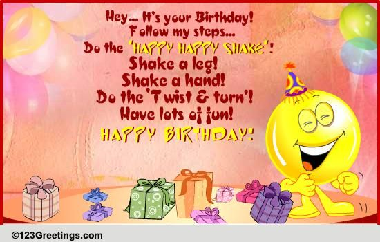 A Birthday Dance Free Happy Birthday ECards Greeting Cards 123 Greetings