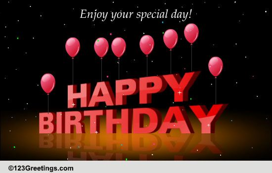 Enjoy Your Birthday Free Happy Birthday ECards Greeting Cards 123 Greetings