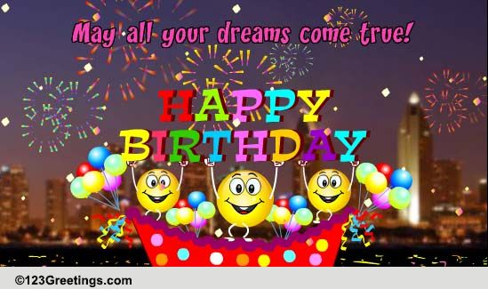 Happy Birthday Cards Free Happy Birthday ECards Greeting Cards 123 Greetings