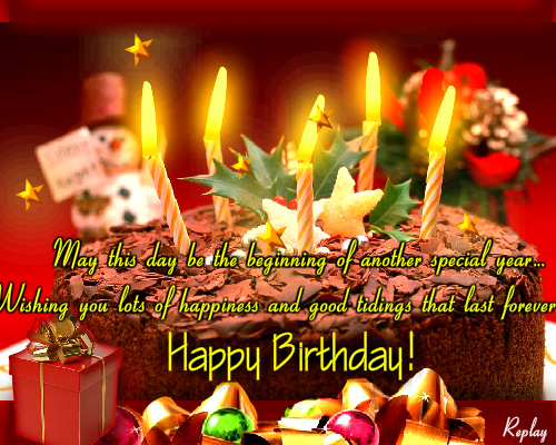 A Beginning Of Another Special Year Free Happy Birthday ECards 123 Greetings