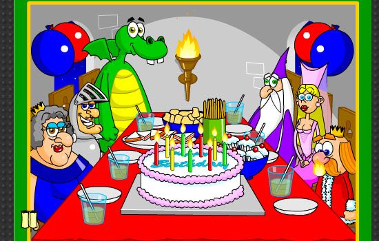 A Medieval Birthday Party Free Happy Birthday ECards Greeting Cards 123 Greetings