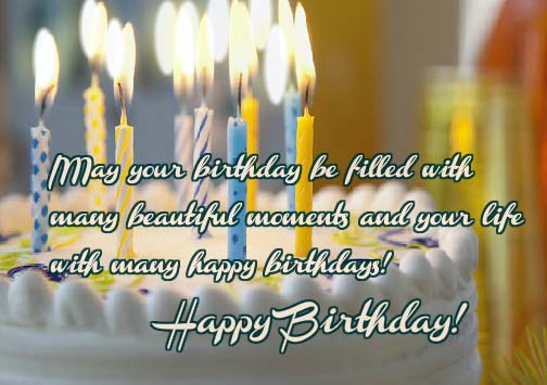 Fill Your Day With Beautiful Moments Free Happy Birthday ECards 123 Greetings