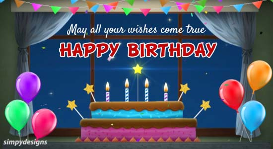 Wish Upon A Star On Birthday Free Happy Birthday ECards Greeting Cards 123 Greetings