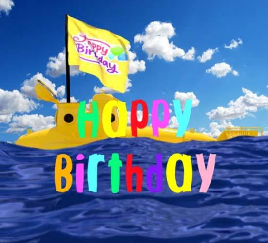 Happy Birthday Submarine Free Happy Birthday Ecards