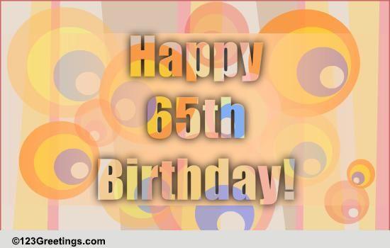 Fun 65th Birthday Wish Free Milestones ECards Greeting Cards 123 Greetings