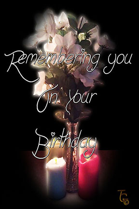Remembering You Birthday Card Free Miss You ECards Greeting Cards 123 Greetings