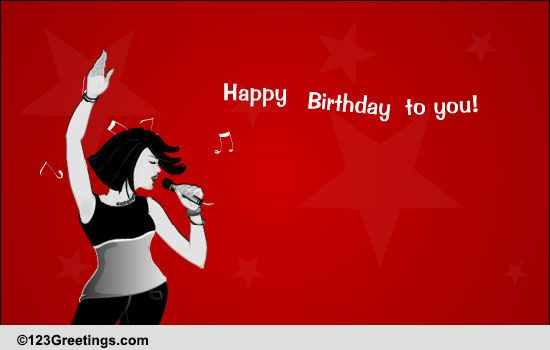 Sing Happy Birthday To You Free Songs ECards Greeting