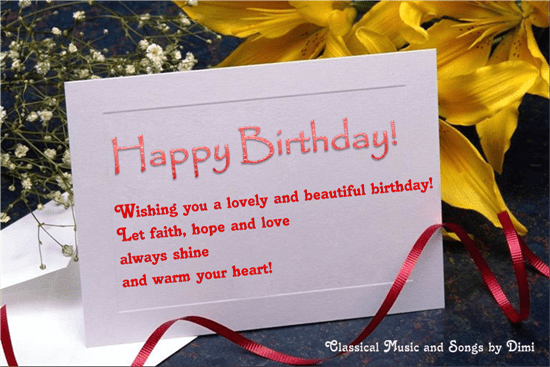 Warm Happy Birthday Wishes Free Birthday Wishes ECards Greeting Cards 123 Greetings
