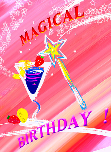 Magical Birthday Cocktail Wishes Free Birthday Wishes Ecards 123 Greetings