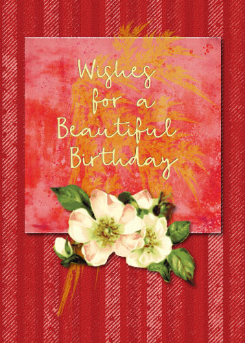 Beautiful Flower For Birthday Wishes Free Birthday Wishes ECards 123 Greetings