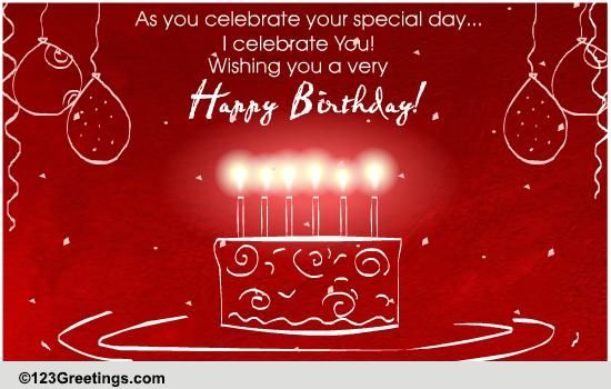 A Birthday Celebration Free Birthday Wishes ECards Greeting Cards 123 Greetings