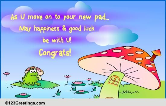 A New Pad Free Home Ecards Greeting Cards 123 Greetings