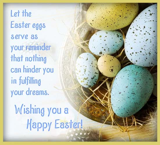 Wishing You A Happy Easter Free Formal Greetings ECards Greeting Cards 123 Greetings