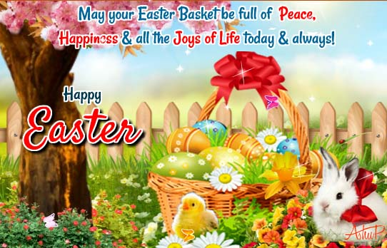 Beautiful Easter Wishes Amp Blessings Free Happy Easter ECards 123 Greetings