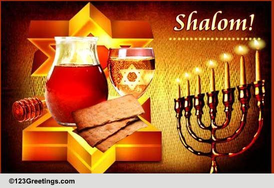 Shalom Free Happy Passover ECards Greeting Cards 123 Greetings