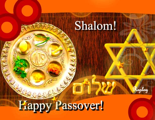 Golden Wishes For All Free Happy Passover ECards Greeting Cards 123 Greetings