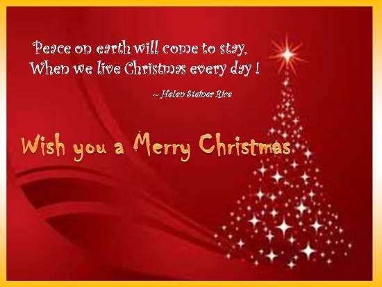 Merry Greetings For Joyful Christmas Free Good Tidings