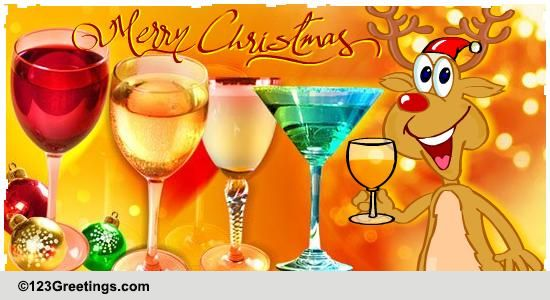 Christmas Holiday Cheers Free Merry Christmas Wishes ECards 123 Greetings