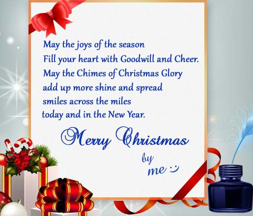 The Chimes Of Christmas Glory Free Merry Christmas Wishes