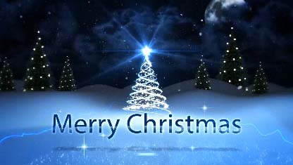 Merry Christmas Sparkling Wishes Free Merry Christmas