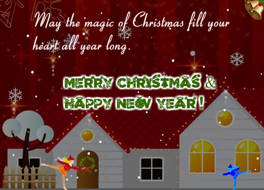 May The Magic Fill Your Heart Free Merry Christmas Wishes