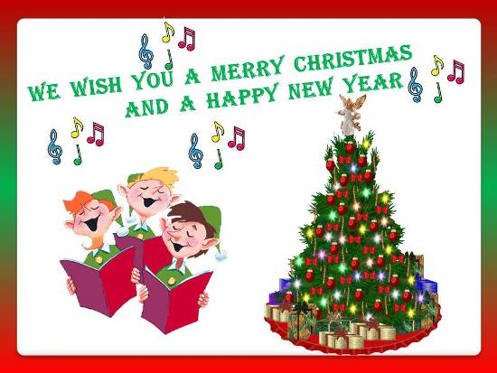 Convey Your Warm Wishes On Christmas Free Carols ECards