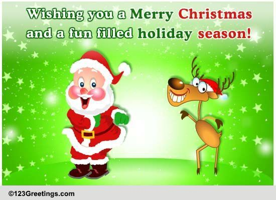 A Christmas Game Free Christmas Cards Special ECards