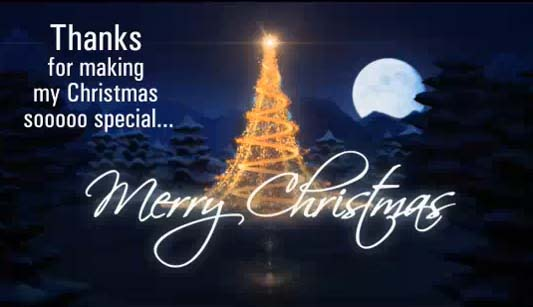 Thanks For Making My Christmas Free Thank You ECards