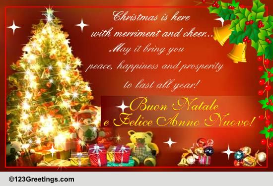 Christmas Around The World Italian Cards Free Christmas Around The World Italian Wishes 123